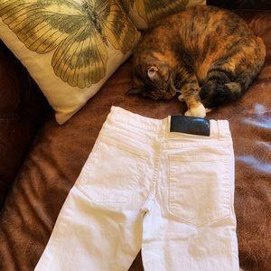 Cheap Monday white jeans size 25